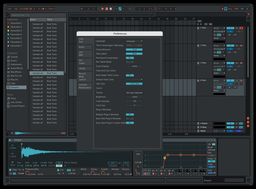 Made by someone modified by other 2 Theme for Ableton 10 by CRISTIAN ALEXANDRU POPA