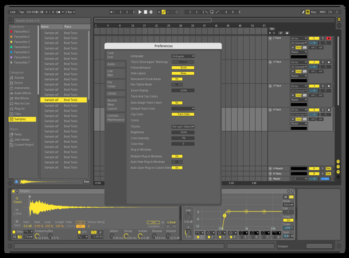 YELLODEF1 Theme for Ableton 10 by david