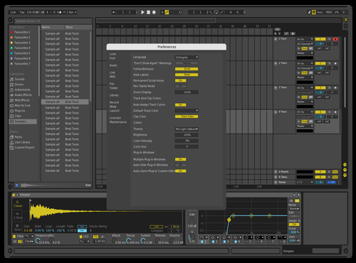Professional Theme for Ableton 10 by plasmody
