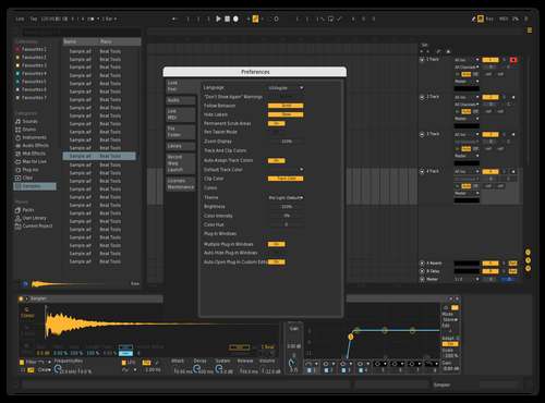 Darker Theme for Ableton 10 by Raffi