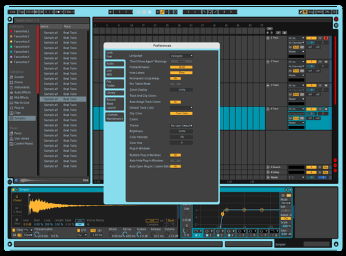 Tuqir Theme for Ableton 10 by Mike