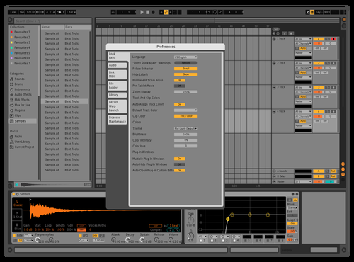 Orange Theme for Ableton 10 by Kush
