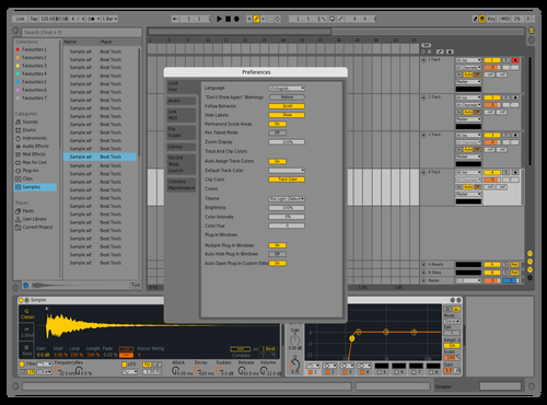 Live9xxx Theme for Ableton 10 by Nauj