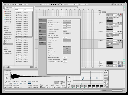 Minimalist Theme for Ableton 10 by aylesim