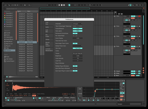 Cute Theme for Ableton 10 by Artemchek