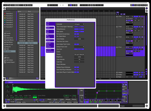 Laker paper Theme for Ableton 10 by willl