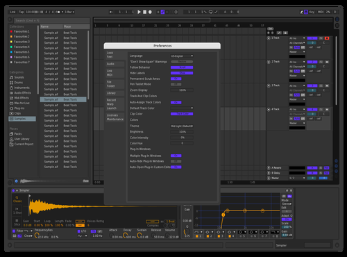 BlueOrange 1 Theme for Ableton 10 by Mr Chow