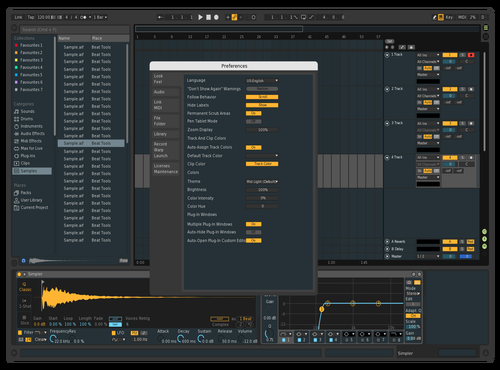 Material_draft Theme for Ableton 10 by Claudia Chen