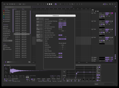 Reepr Theme for Ableton 10 by neo blayd