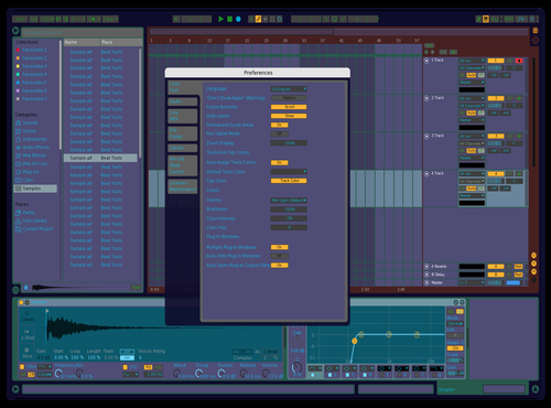 For my eyes Theme for Ableton 10 by SERGEY GERBELEV