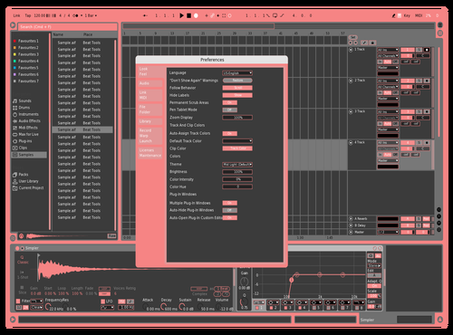 Japanese Remix_Dark Theme for Ableton 10 by Nick Ferreira