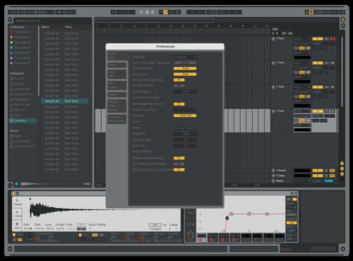 DARKALT10 Theme for Ableton 10 by david