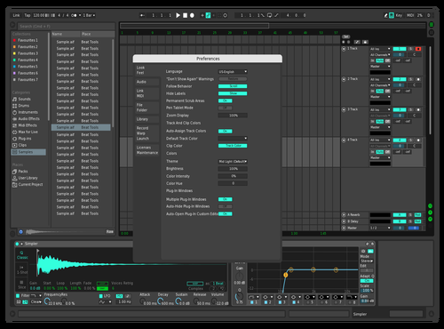 SP7 Theme for Ableton 10 by savvas31