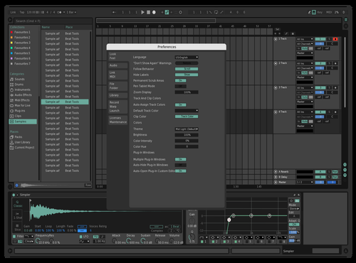Green Best Theme for Ableton 10 by datjames