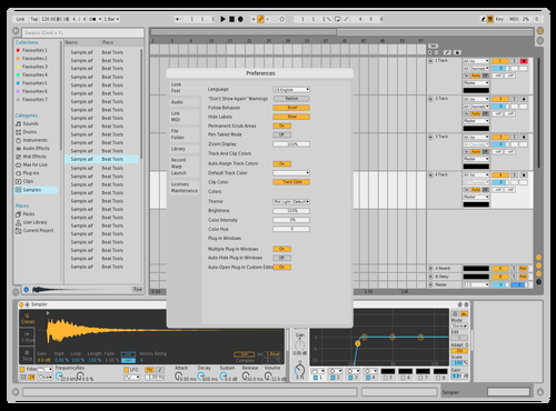 CLARO1 Theme for Ableton 10 by david