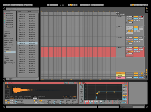 CP1 Theme for Ableton 10 by DaveB