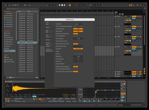Fall Theme for Ableton 10 by Cristopher Rojas