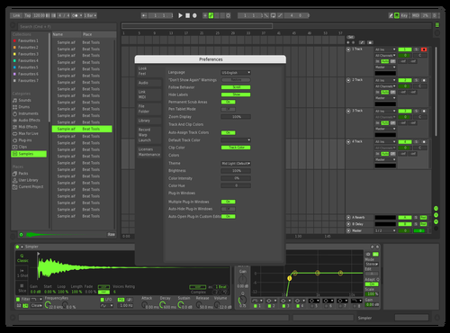 METAGREEN1 Theme for Ableton 10 by Metacrea