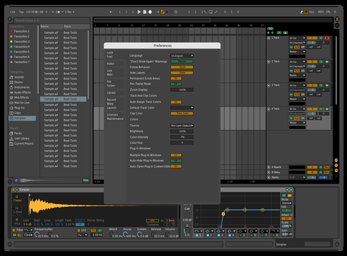 Visible and nice Theme for Ableton 10 by martbeatz