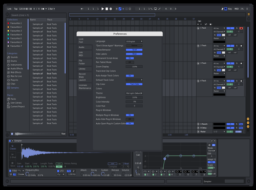 Walters Discord Theme #1 Theme for Ableton 10